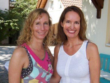 Liv Wach und Sandra Weber